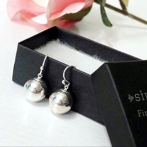 Silpada • Silver Ball Earrings